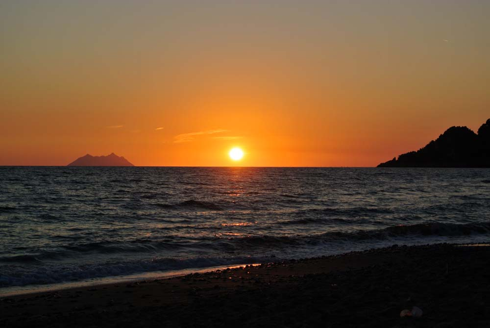 tramonto a Gaeta
