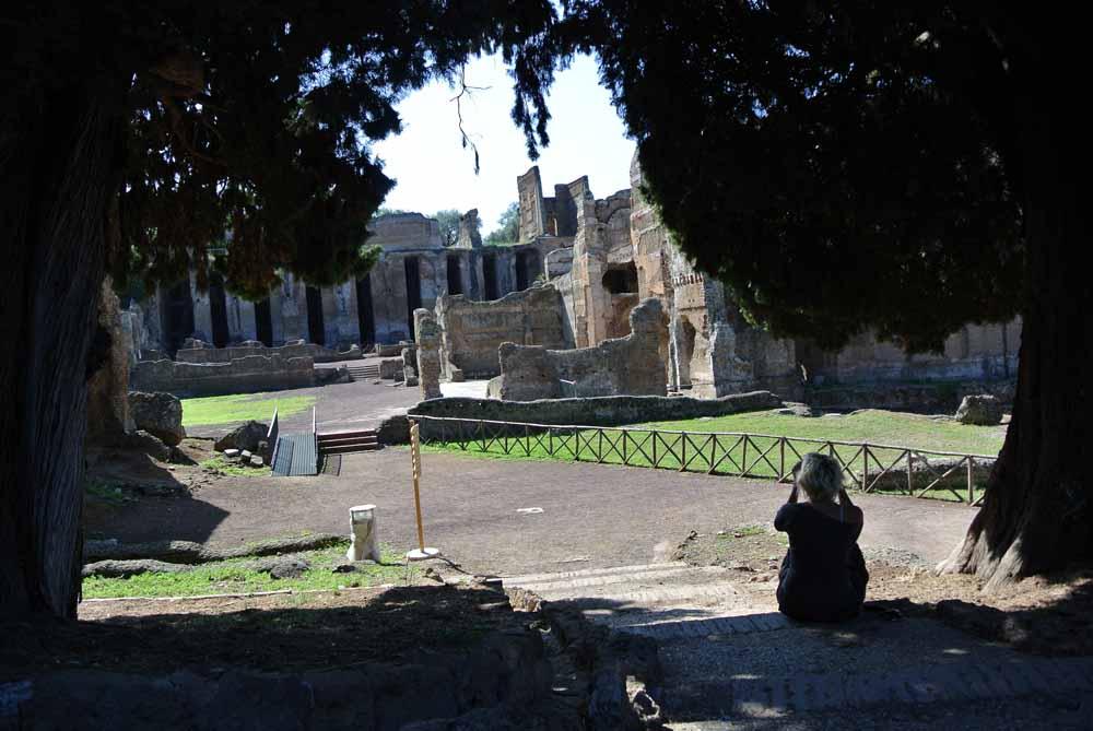 Villa adriana - Lazio in moto