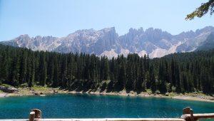 Lago di carezza - panorama