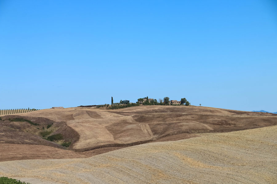 Toscana in moto - Val D'Orcia