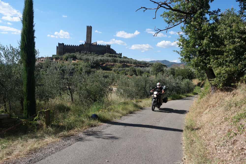 Toscana in moto - Montecchio Vesponi