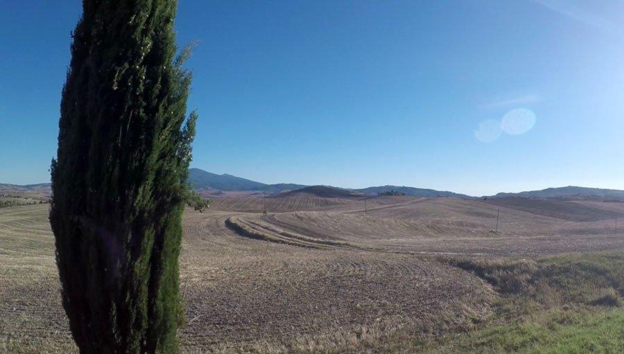 Toscana in moto - Pienza