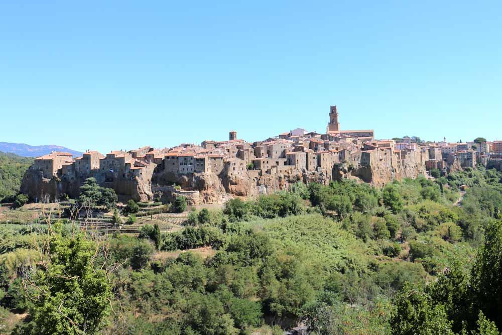 Toscana in moto - Pitigliano