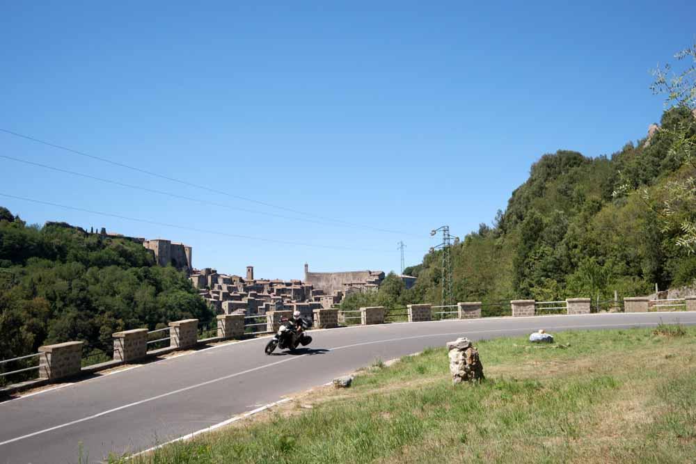Toscana in moto - Sorano