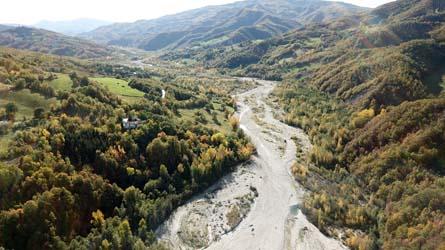 Romagna in moto- fiume Marecchia