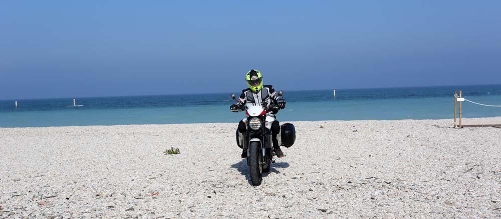 itinerario in moto nelle marche - Marotta