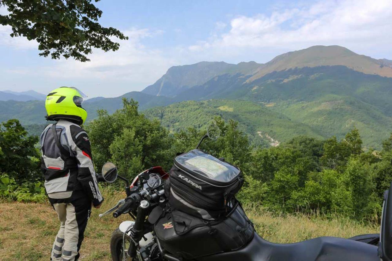 Monti Sibillini in moto - Montemonaco