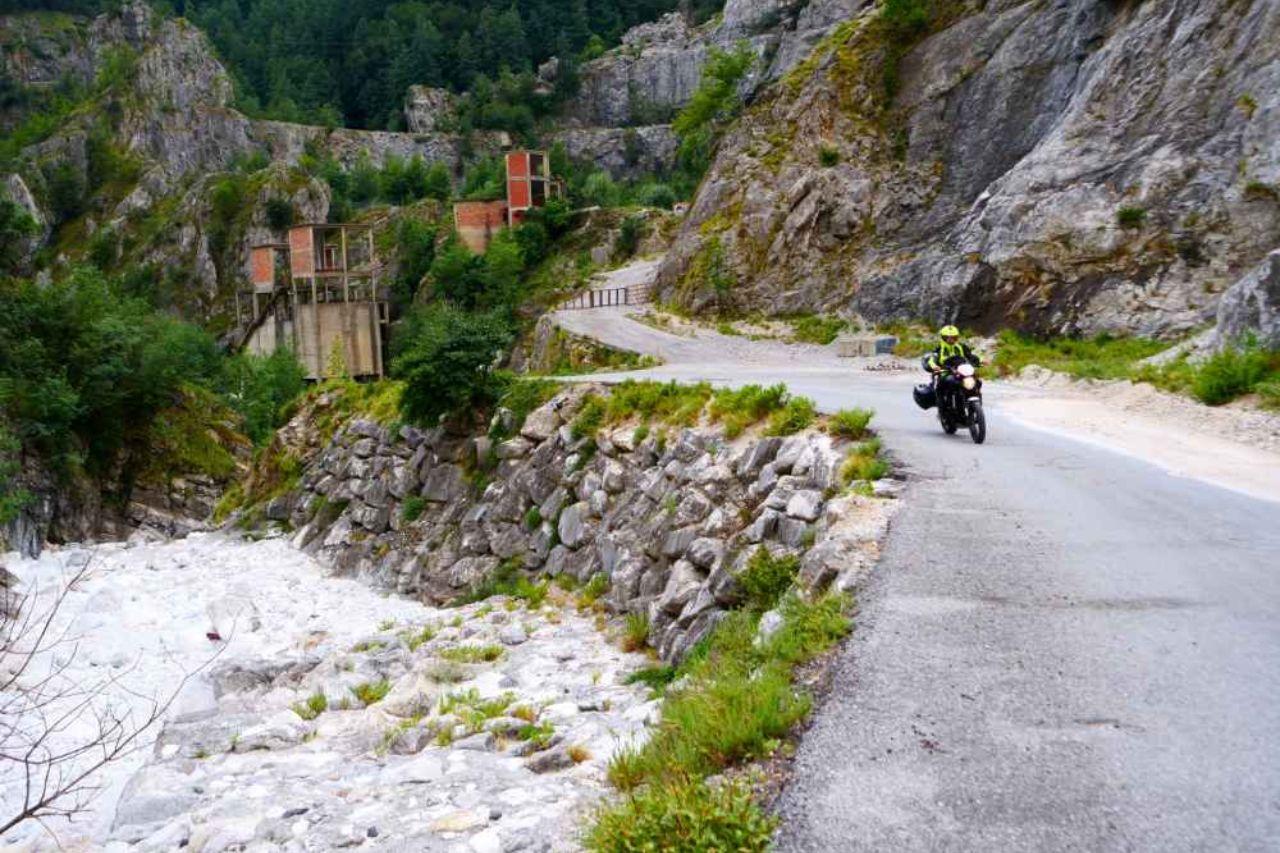 Toscana in moto - Monte Tambura