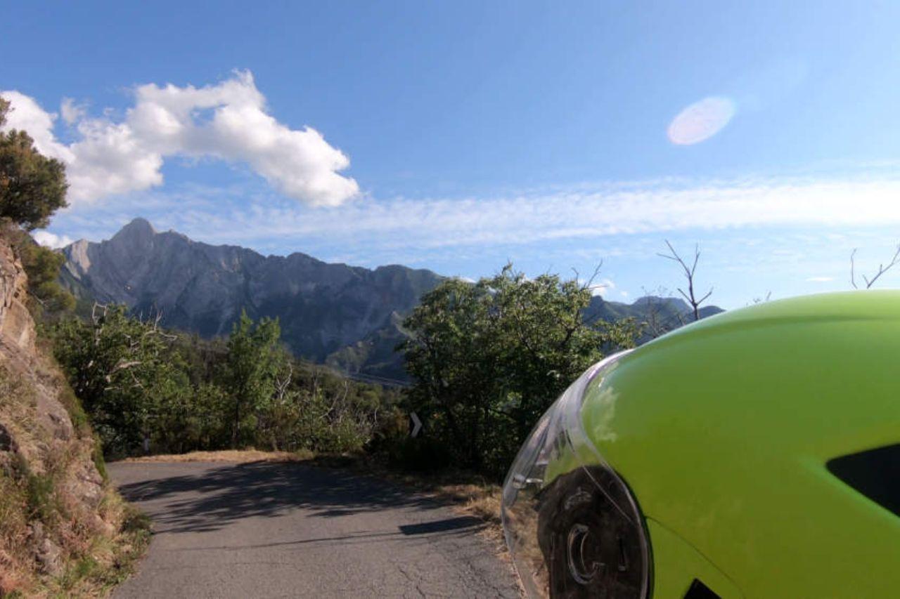 Toscana in moto - verso campocecina